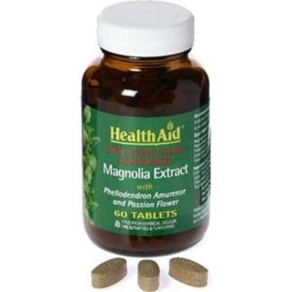 Picture of HealthAid Magnolia Extract Plus 500mg Tablets