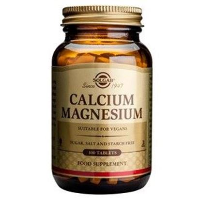 Picture of Solgar Calcium Magnesium Tablets