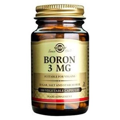Picture of Solgar Boron 3 mg Vegetable Capsules