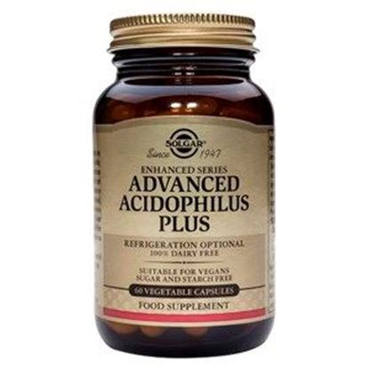 Picture of Solgar Advanced Acidophilus Plus - 60 Vegetable Capsules