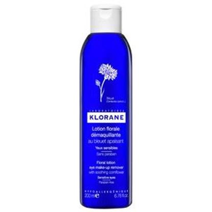 Picture of Klorane Floral Lotion Eye Makeup Remover - Sensitive Eyes