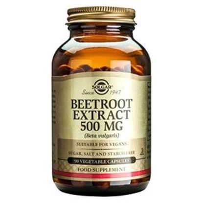 Picture of Solgar Beetroot Extract 500mg Vegetable Capsules - 90