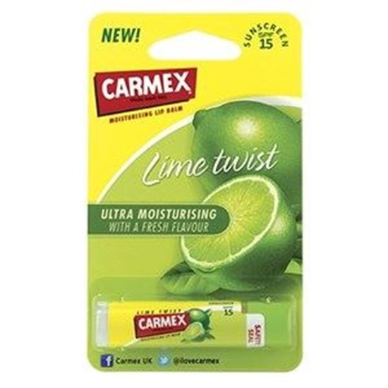 Picture of Carmex Lime Twist Lip Balm Stick SPF15 - 4.25g