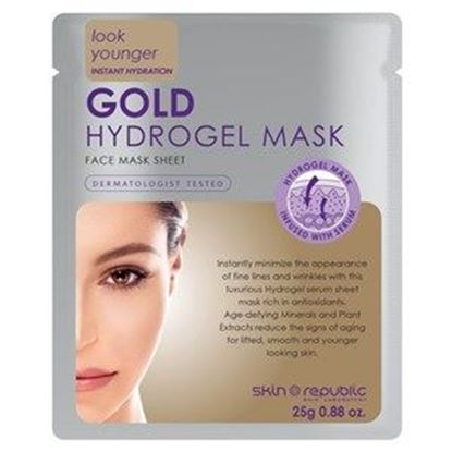 Picture of Skin Republic Gold Hydrogel Facial Sheet Mask