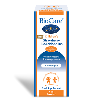 Picture of Biocare Children's Strawberry BioAcidophilus 60g