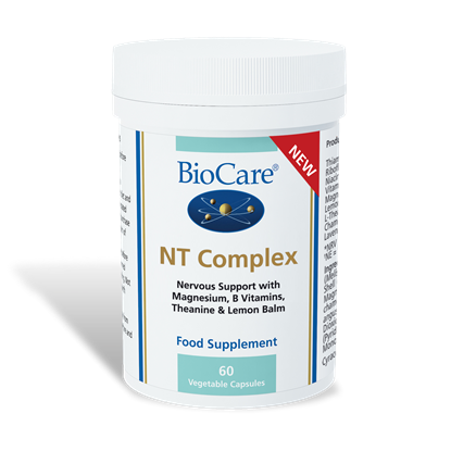Picture of Biocare NT Complex Nervous Support 60 Veg Cap