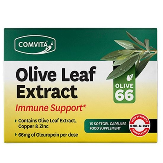Picture of Comvita Olive Leaf Extract 15 Softgel Capsules