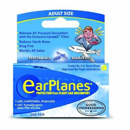 Picture of EarPlanes Earplugs - 1 Pair - Adult size