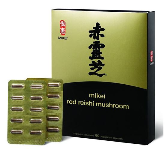 Picture of Mikei Red Reishi - 30 Capsules