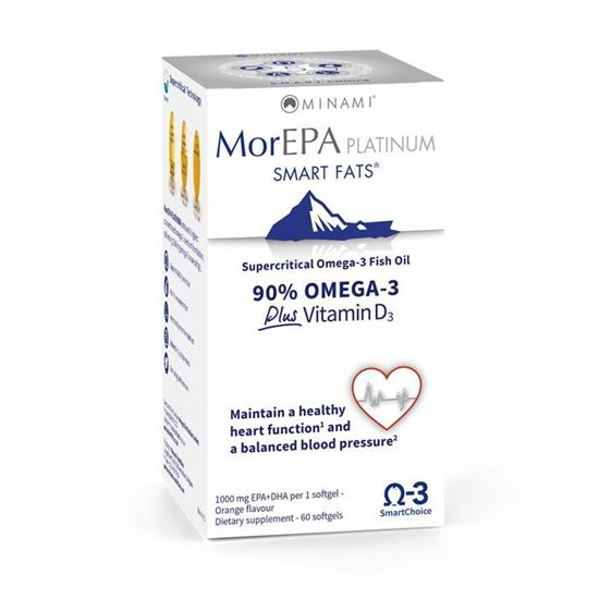 Picture of Minami MorEPA Platinum Smart Fats - 60 softgels