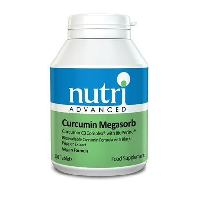Picture of Nutri Advanced Curcumin Megasorb - 120 tabs