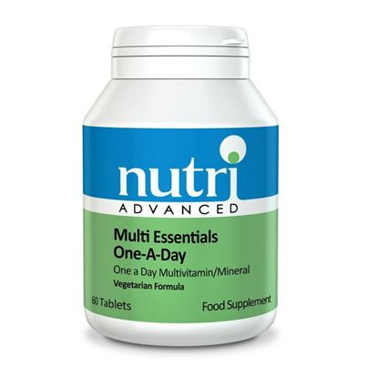 Picture of Nutri Advanced Multi Essentials One-A-Day 60 Tabs