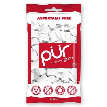 Picture of Pur Gum Bag Cinnamon 80g