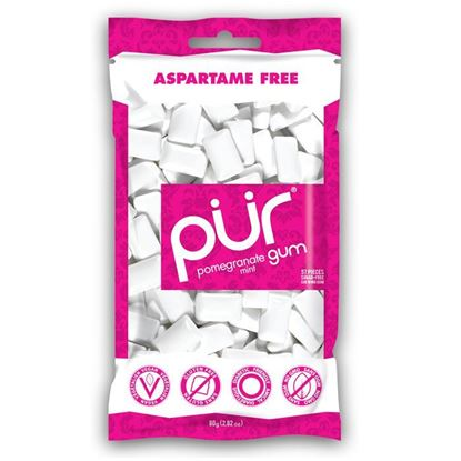 Picture of Pur Gum Bag Pomegranate 80g