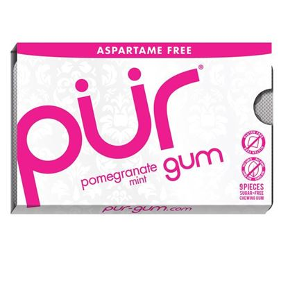 Picture of Pur Gum Blister Pomegranate - 9 pieces
