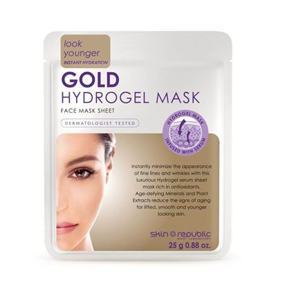 Picture of Skin Republic Hydrogel Gold Face Mask 25g