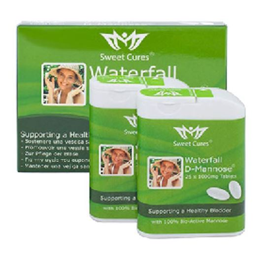 Picture of Sweet Cures Waterfall D-Mannose Tablets 50x 1000mg