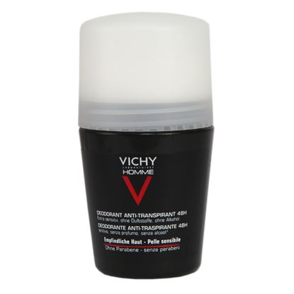 Picture of Vichy Homme Deodorant Roll-on 48Hr