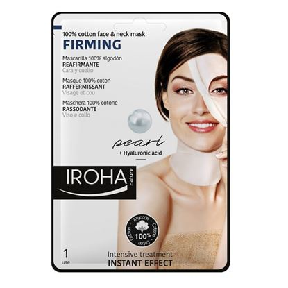 Picture of Iroha Nature Firming Face & Neck Mask - Pearl + Hyularonic Acid