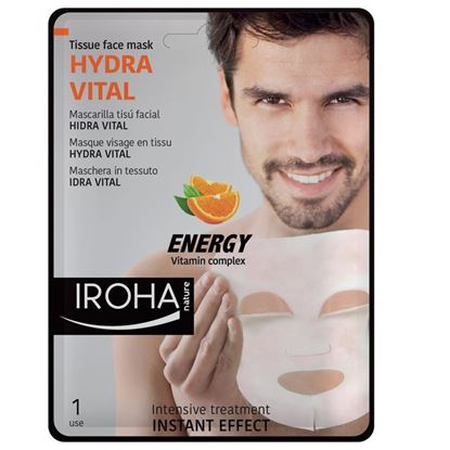 Picture of Iroha Nature Hydra Vital Tissue Face Mask - Energy Vitamin Complex