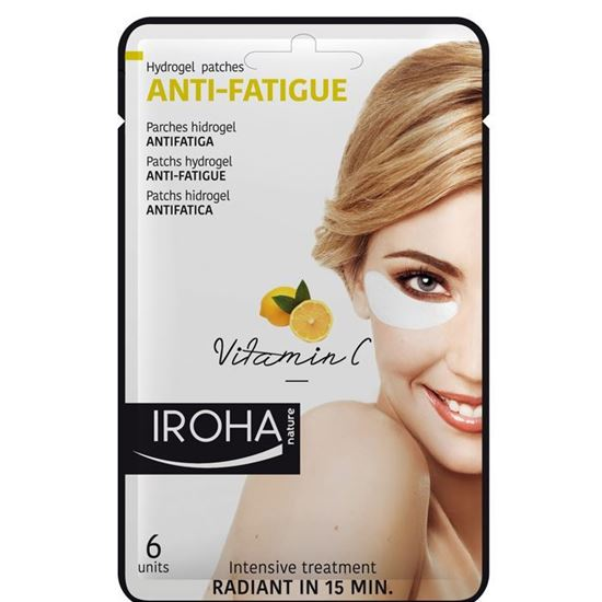 Picture of Iroha Nature Anti-Fatigue Hydrogel Eye Patches - Vitamin C