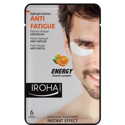 Picture of Iroha Nature Anti-Fatigue Hydrogel Eye Patches - Energy Vitamin Complex