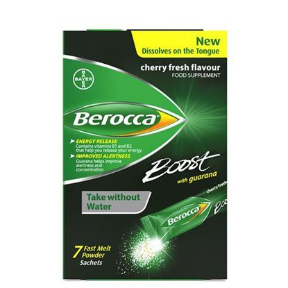 Picture of Berocca Boost Fast Melts Sachets 7 Sachets