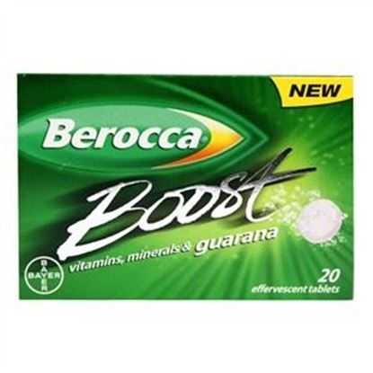 Picture of Berocca Boost Vitamins, Minerals & Guarana Effervescent Tablets