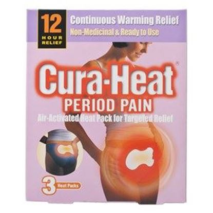 Picture of Cura-Heat 12hr Period Pain Relief Patches