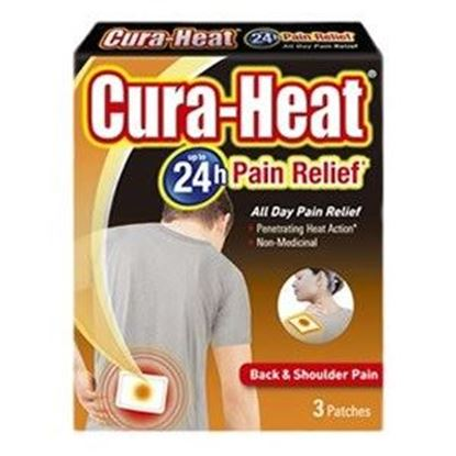 Picture of Cura-Heat Up to 24h Back & Shoulder Pain Relief