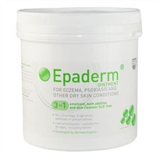 Picture of Epaderm Ointment 3 in 1 Emollient, Bath Additive and Skin Cleanser SLS Free - 125g