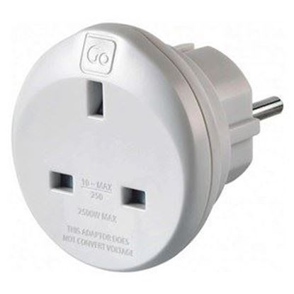 Picture of Go Travel UK - Europe Earthed Adaptor