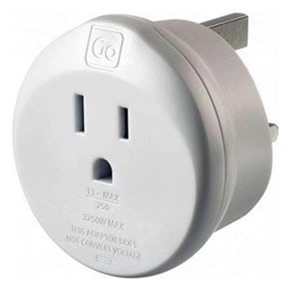 Picture of Go Travel US - UK Earthed Adaptor (Americas - UK)