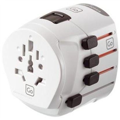 Picture of Go Travel Worldwide Earthed Adaptor