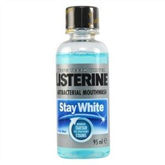Picture of Listerine Stay White Anti-Bacterial Mouthwash - Arctic Mint (Travel Size)