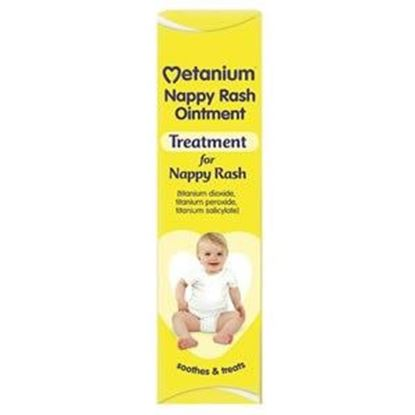 Picture of Metanium Nappy Rash Ointment