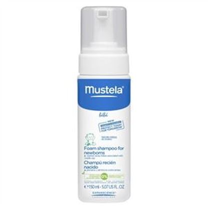 Picture of Mustela Bebe Foam Shampoo For Newborns