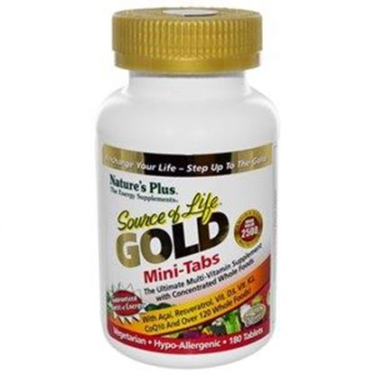 Picture of Natures Plus Source of Life GOLD Mini-Tabs