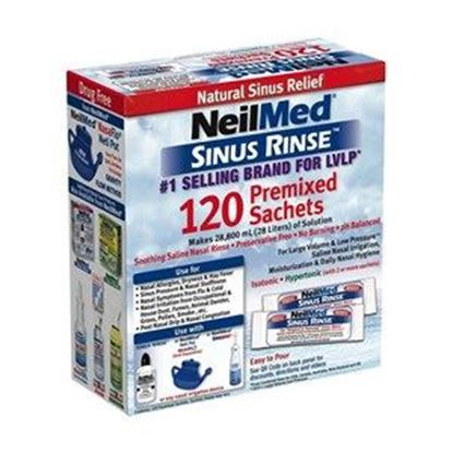 Picture of NeilMed Sinus Rinse 120 Refill Mixture Sachets