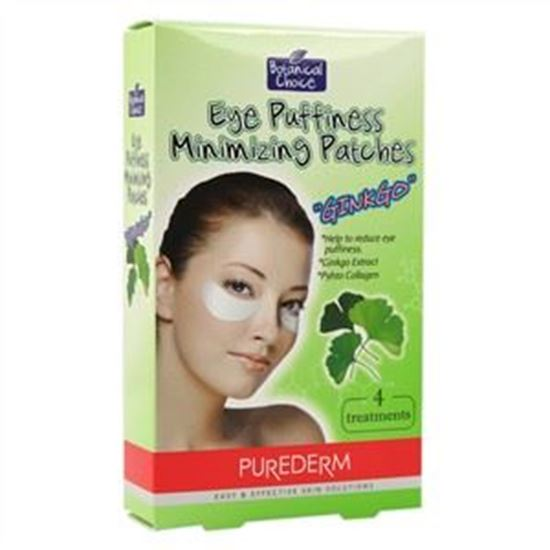 Picture of PureDerm Eye Puffiness Minimizing Patches - Ginkgo