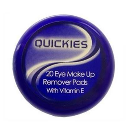 Picture of Quickies Eye Make Up Remover Pads - 20