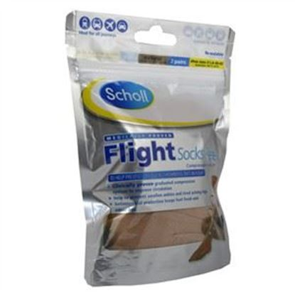 Picture of Scholl Flight Socks Sheer 6.5-8/ Natural