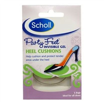 Picture of Scholl Party Feet - Invisible Gel Heel Cushions