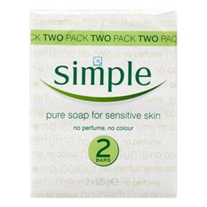 Picture of Simple Pure Soap for Sensitive Skin - 2 bars