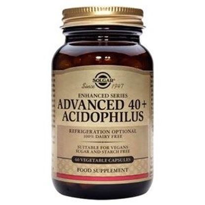 Picture of Solgar Advanced 40+ Acidophilus (Non-Dairy) Vegetable Capsules