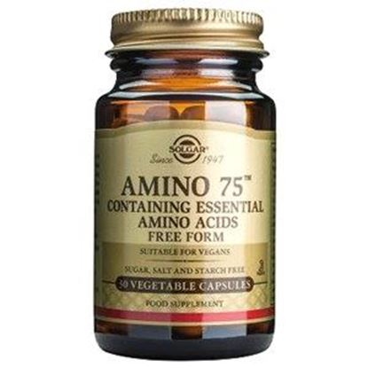 Picture of Solgar Amino 75 - 30 or 90 Vegetable Capsules