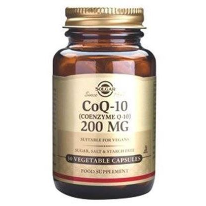 Picture of Solgar Coenzyme Q-10 200 mg - 30 Vegetable Capsules