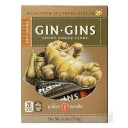 Picture of The Ginger People Gin-Gins Chewy Ginger Coffee Candy