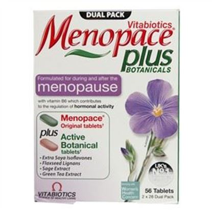 Picture of Vitabiotics Menopace Plus - 56 tablets