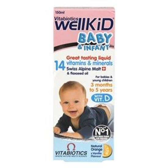 Picture of Vitabiotics WellBaby & Infant Liquid
